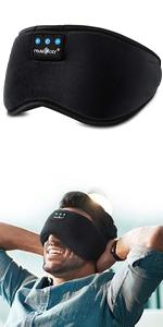 bluetooth sleep headphones sleeping eye mask headband