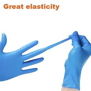 latex gloves medium gloves