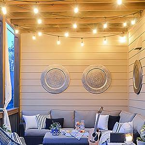 patio lights outdoor