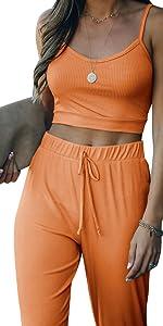 cami tops pants sets