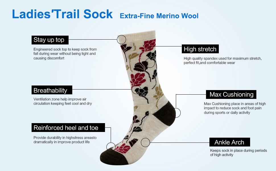 women wool socks