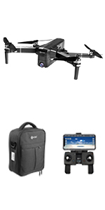 Flashandfocus.com da6c1be3-4264-4f79-ba3f-ea1514ae29b3.__CR0,0,150,300_PT0_SX150_V1___ Contixo F30 Drone for Kids & Adults WiFi 4K UHD Camera and GPS, FPV Quadcopter for Beginners, Foldable mini drone…