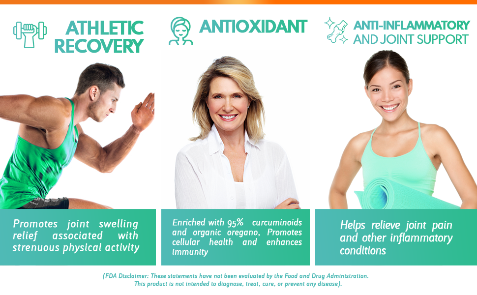 athletic recovery, antioxidant, anti-inflammatory, joint support