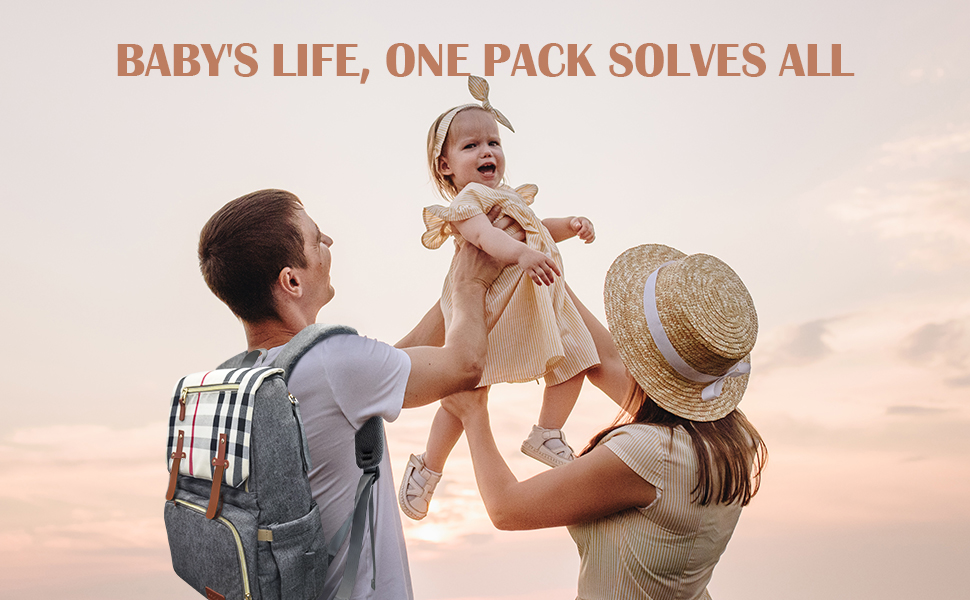 baby diaper back pack for dad