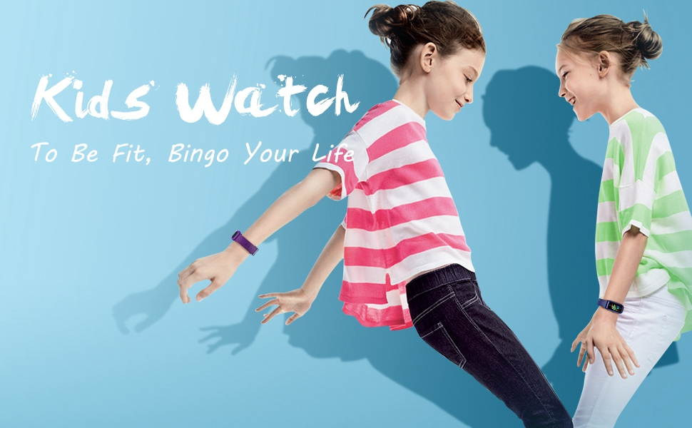 Kids fitness watch
