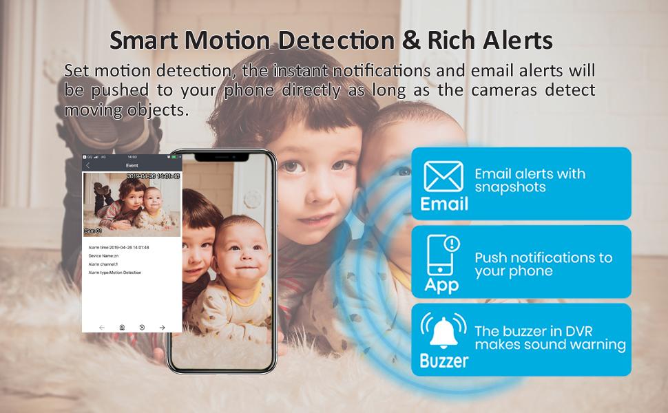 multi motion detection