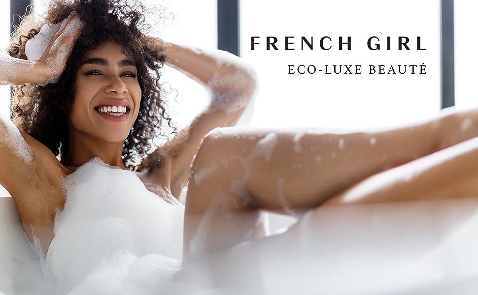 Woman in French Girl Bath