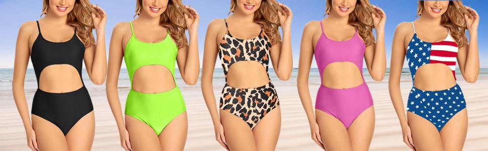 one piece bikini