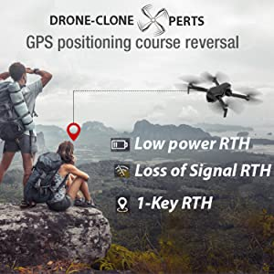 Drone with GPS Auto Return Home