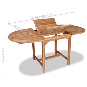 Tidyard Table Extensible à Dîner | Table Extensible de ...