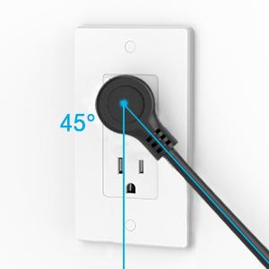 Right Angle Flat Plug