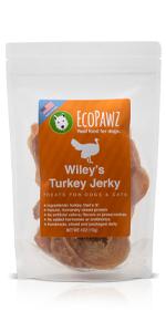 EcoPawz, Wiley's Treats, Turkey Jerky