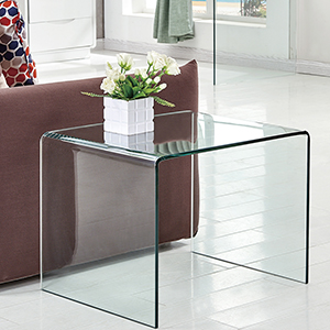 glass side end tables living room
