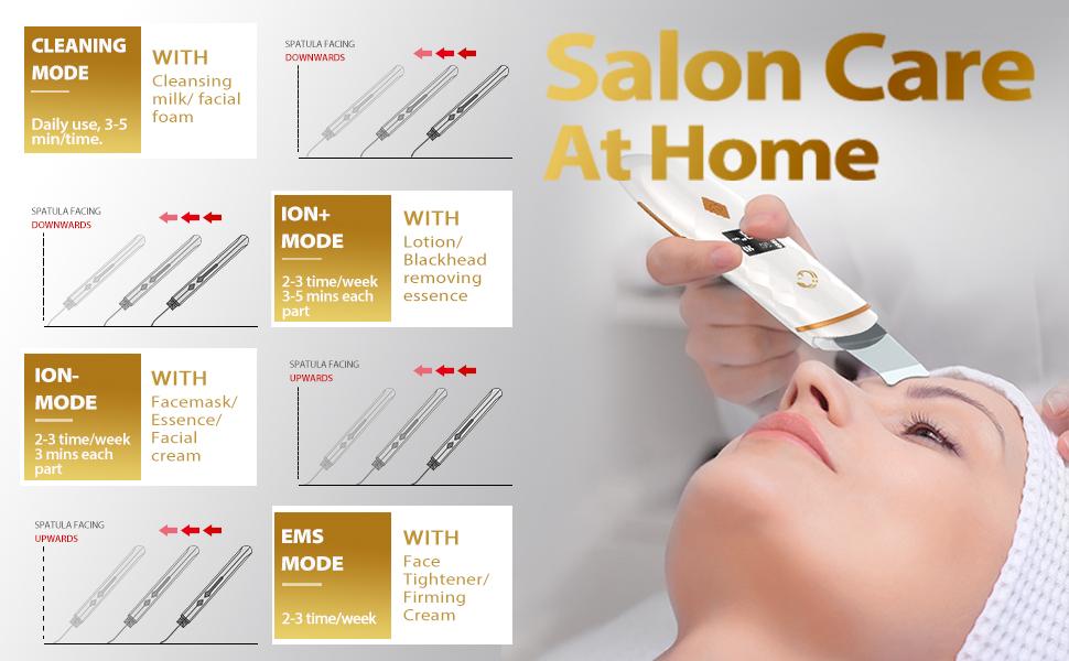 Scrubber 4 in 1 Salon Care