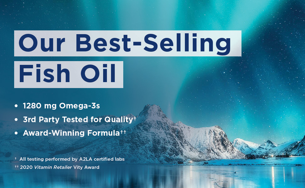 Ultimate Omega Fish Gelatin 60ct 2