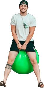 appleround hippity hop ball