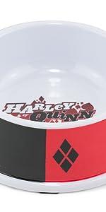 Harley Quinn Pet Food Bowl