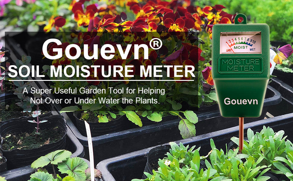 moisture meter for potted plants