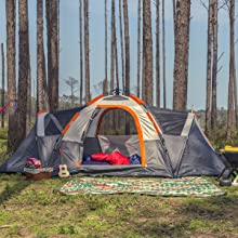 A2 6 Person Camping Tent