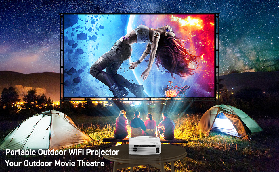 projector for outdoor movies