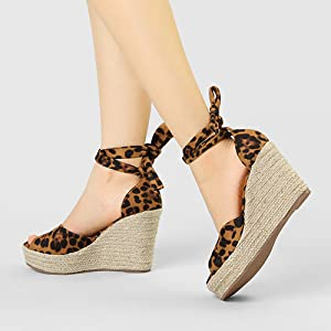 Allegra K women's canvas sneaker with ankle strap sandals