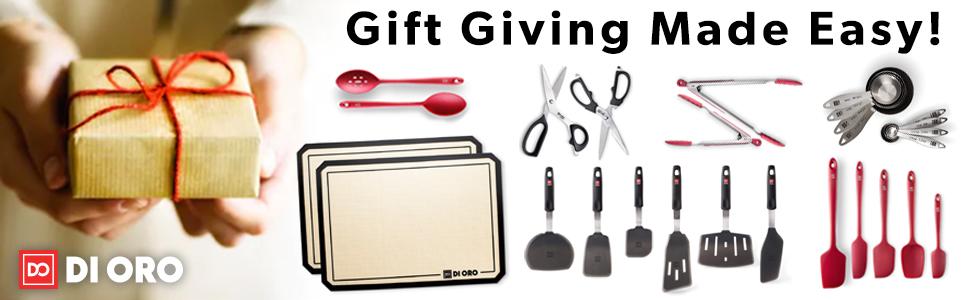 silicone kitchen utensil sets