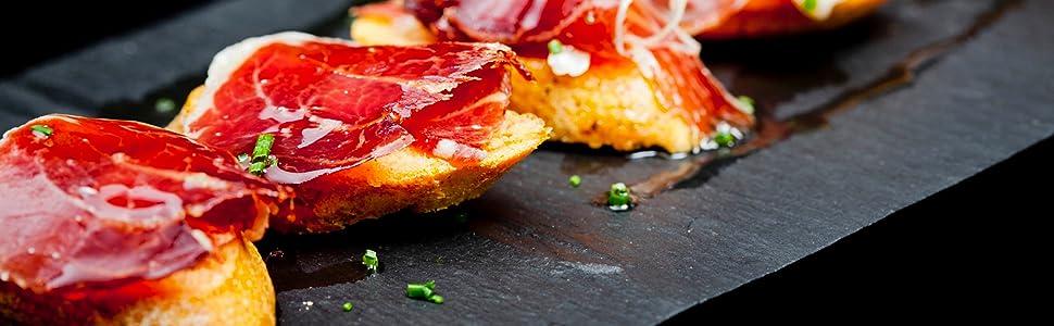 jambon, serrano, iberico, ham