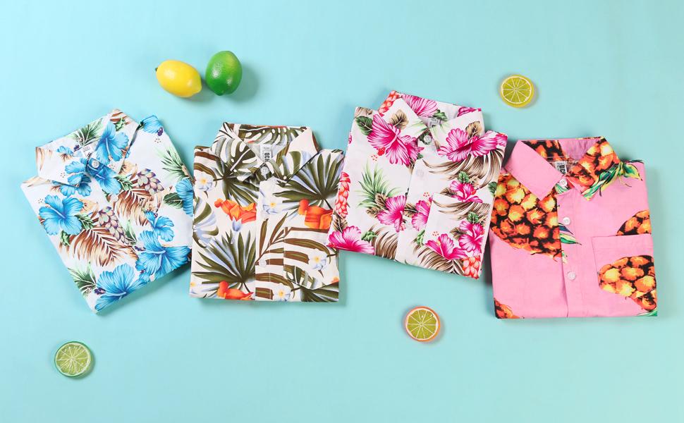 short sleeve shirt for kids, button down shirt,hawaiian shirt, print shirt, floral shirts