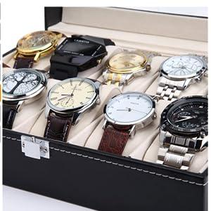 Readaeer Caja para Relojes con 10, Organizador de cajones: Amazon.es: Relojes