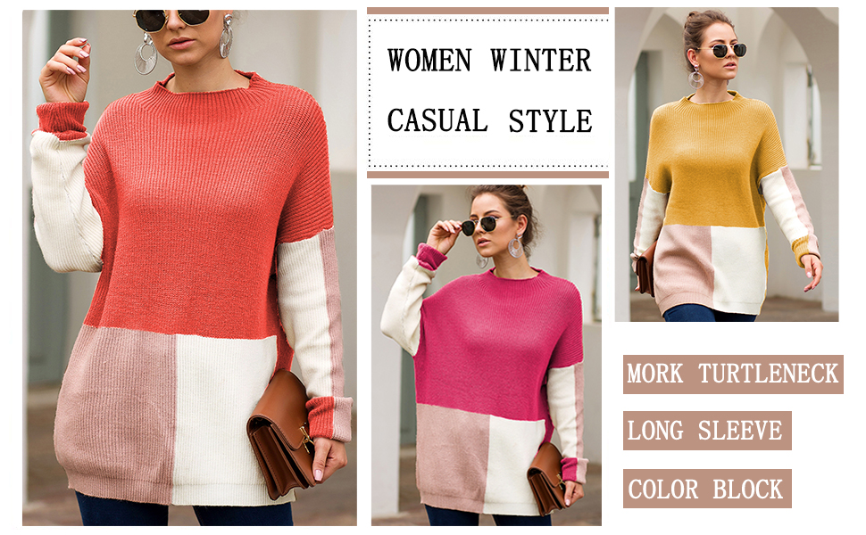 Womens winter warm sweater outwear