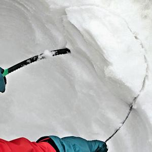 雪の切り方