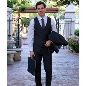 Office business suit vest