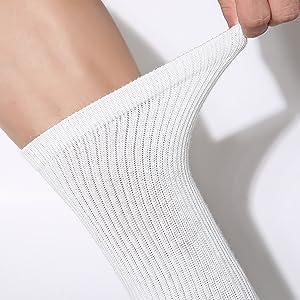 WANDER Womens Athletic Crew Socks 8 Pairs Cushion Running Socks for Women Sport Wicking Cotton Socks 7-10//10-14