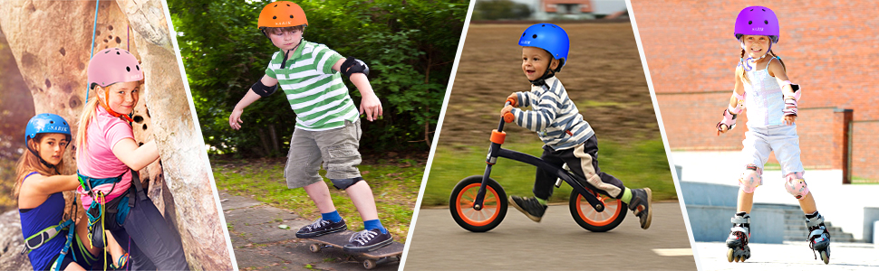 Toddler Helmet Adjustable from kids to Youth Size,Ages 3 to 8 Years Old Boys Girls