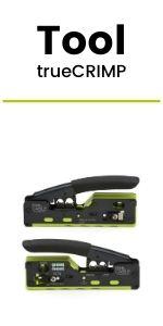 RJ45 connector termination tool