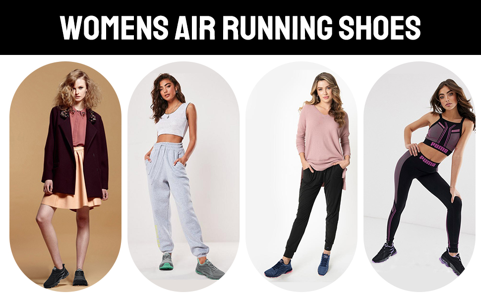 air shoes for women model show
