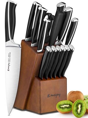 couteaux cuisine avec support