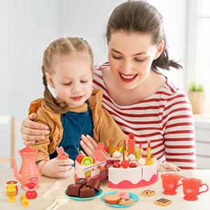 play food tea set for little girls pretend play pretend play toy food pretend food kids play food