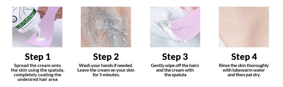 LAGUNAMOON Hair Removal Cream