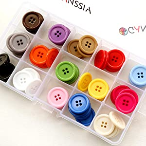 """Solid Colors Fabric Covered Buttons Large Buttons # 80 1 7//8/"""""""