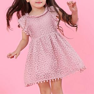 Dusty Pink Princess Dress