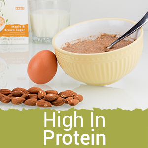 bariwise high protein instant diet oatmeal