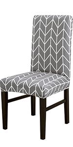 Gray Arrow Chair Slipcovers