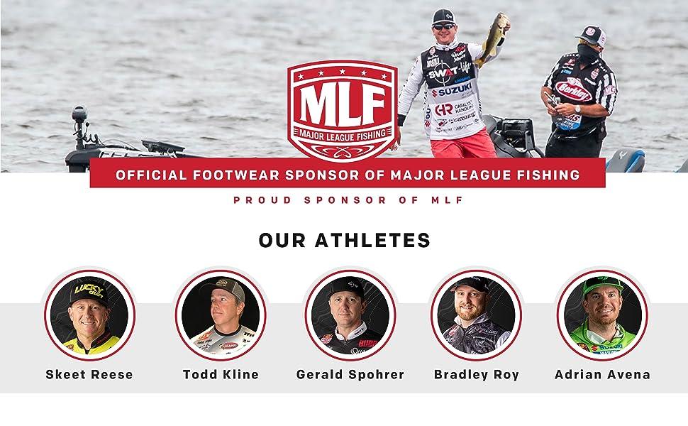 Grundens is a proud sponsor of MLF, Official Footwear Sponsor