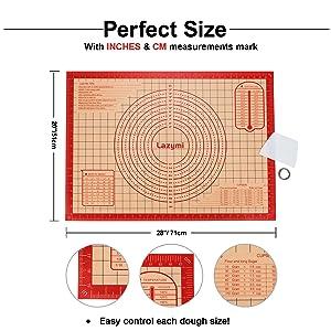 Le tapis de cuisson est un tapis de pâte en silicone de 40 * 60 cm