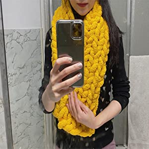 chenille scarf