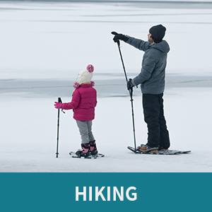 snowshoes for hiking