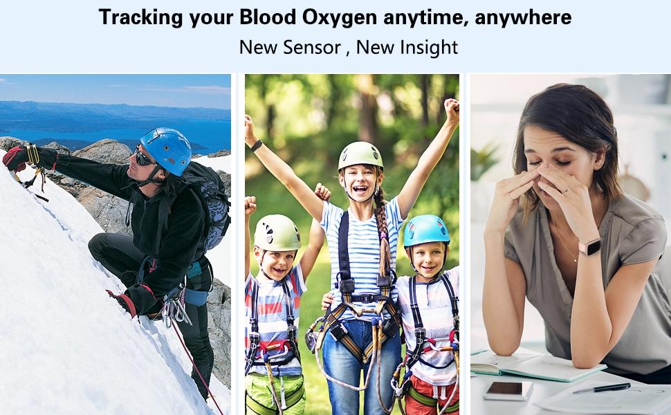 Blood Oxygen Fitness Tracker