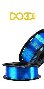 silk blue filament