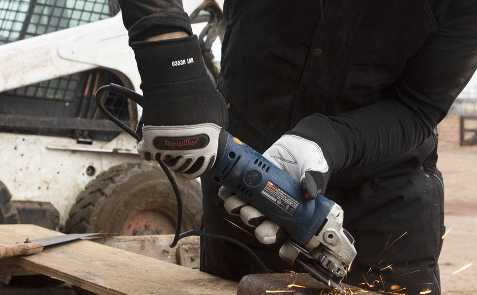RefrigiWear 0353R Ergo Goatskin Glove